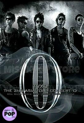 DBSK TVXQ - [2nd Asia Tour Concert O] (DVD) - Portada