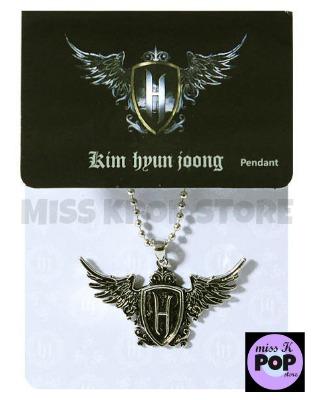 KIM HYUN JOONG - 1st Collection Official Goods: Pendant (Colgante) - Presentación