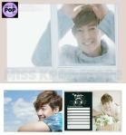 KIM HYUN JOONG - Official Goods: Calendario de Pared 2013 - Detalles