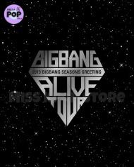 BIG BANG – Official Goods: Season Greeting 2013 (Calendario de Pared yEscritorio)