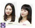 ETUDE HOUSE - Hot Style Hair Tools Bang Style (Cerquillo) - Antes y después