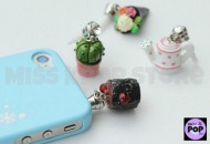 LOVE RAIN – Official Goods: Gardening Miniature Earphone Cap Set (Adorno para Celular) (KBS Drama)