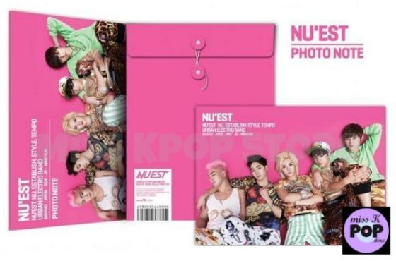 NU'EST - Official Goods: [Sleep Talking] Mini Photo Note (Libreta / Cuaderno)