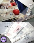 B1A4 - Official Goods: Set de 5 File Holder [B1A4 in Wonderland] (Folder) - Detalles