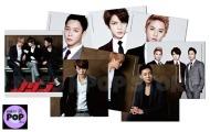 JYJ – Official Goods: 2013 Set de 8 MousePads