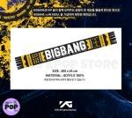 BIG BANG - Official Goods: Muffler [2014 Big Bang +α in Seoul] (Bufanda) - Medidas y Material