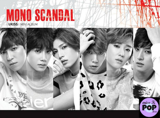 U-KISS - Mini Album Vol. 9 [Mono Scandal] - Portada